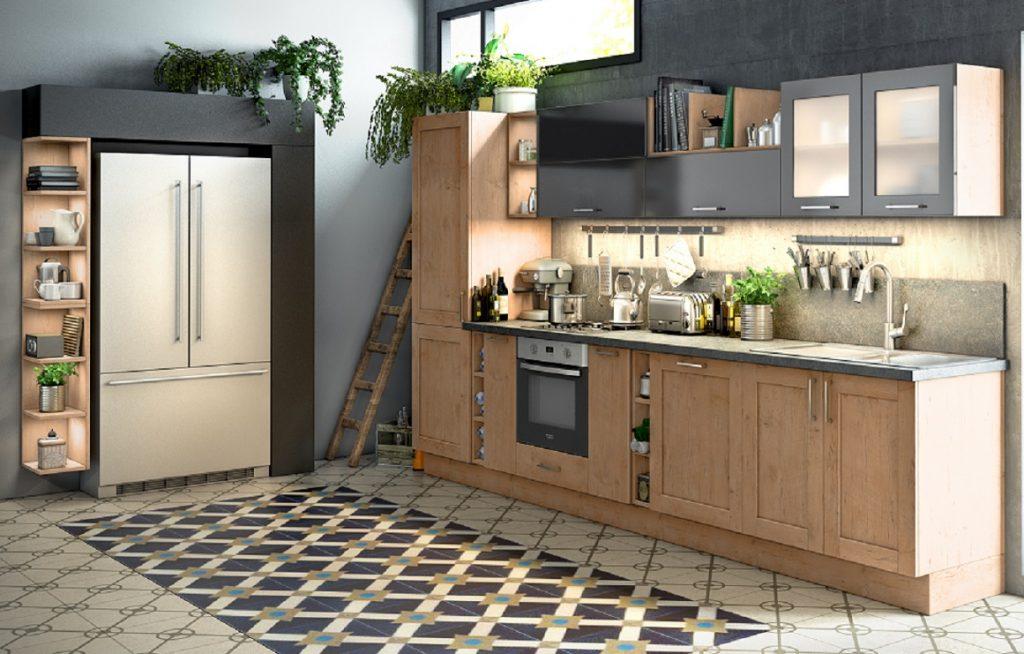 Natuurlijke kleuren en materialen Wiggers Keukens